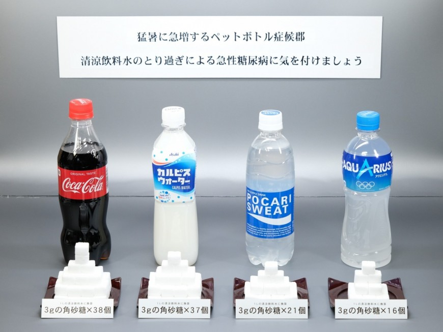Volume of these soft drinks is 500ml each.